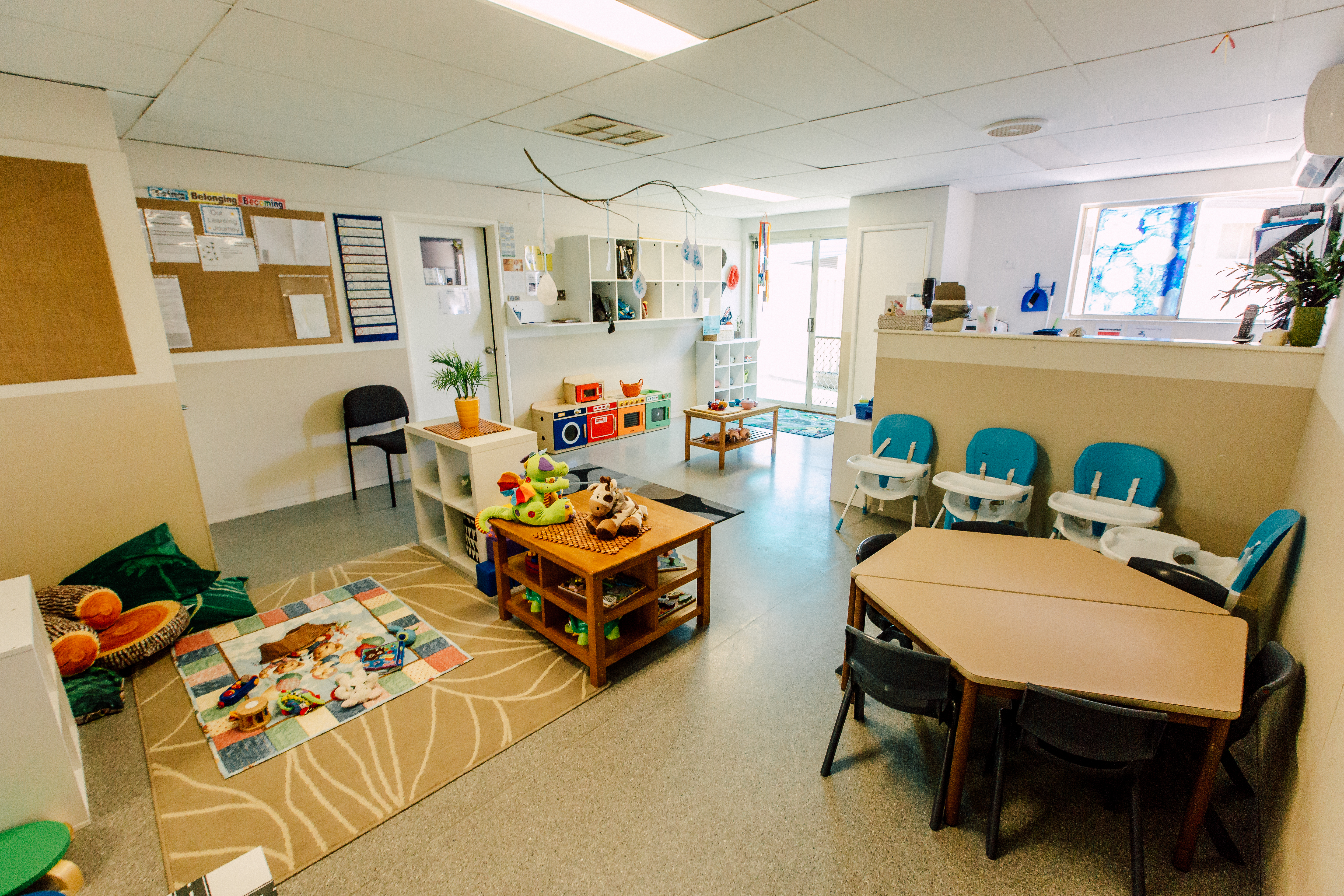 Child care classroom at The Learning Tree Lynwood